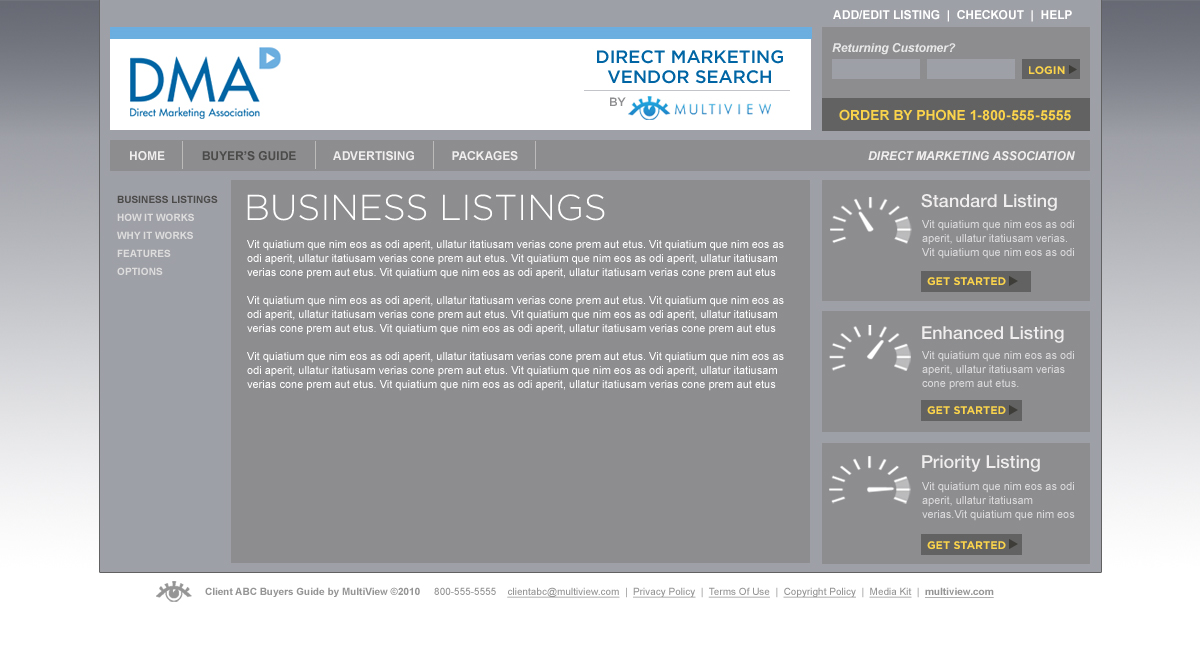Multiview 26 Business Listings