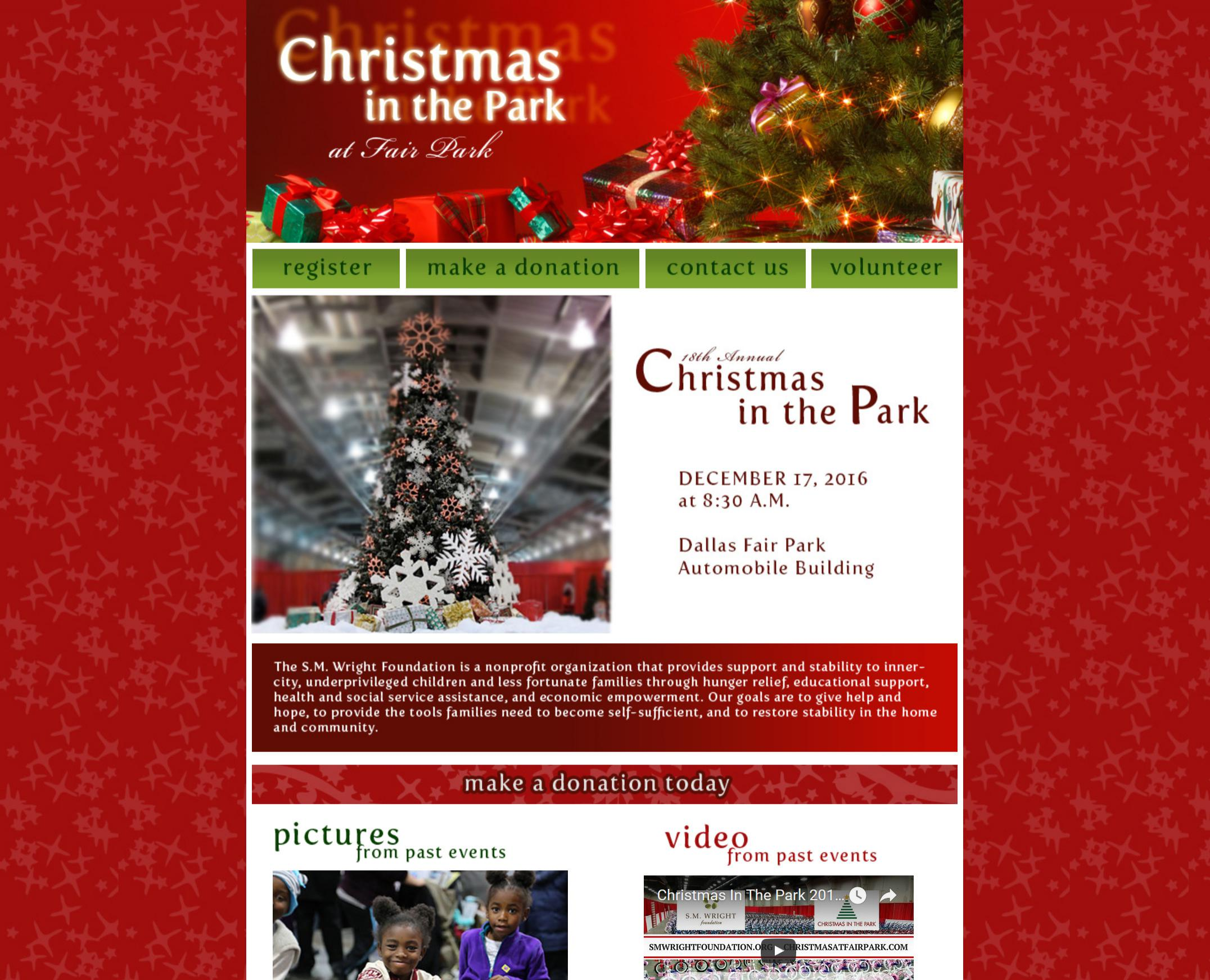 Christmas in the Park at Fair Park (Screenshot)