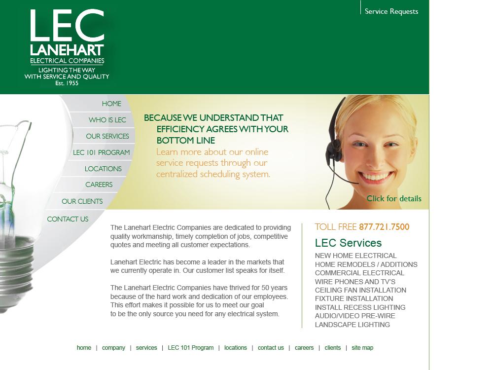 Lanehart Electric Companies Lec Achilles Interactive